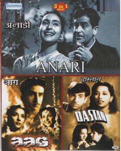 Amazon.com: Anari/Aag/Dastaan (Hindi Film / Bollywood Movie / Indian Cinema  3 in 1 - 100% Orginal DVD Without Subtittle): Raj Kapoor, Nutan, Lalita  Pawar, Nargis, Kamini Kaushal, Nigar Sultana, Suraiya, Raj Kapoor,