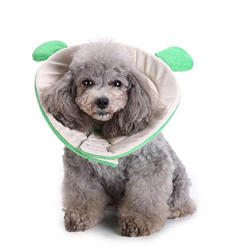Hoxekle Pet Neck Collar Healthy Products Elizabeth Circle Pet Soft Cone Recovery E-Collar for Puppy Small Medium Large Dogs Cats 1 PCS by Hoxekle (Image #6)