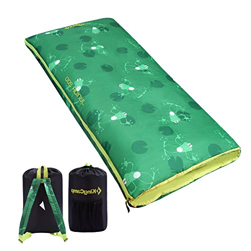 - KingCamp Junior 200 Cozy Lightweight Sleeping Bag