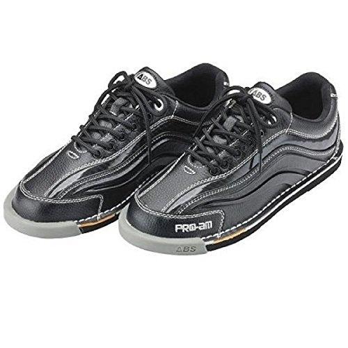 振る舞う表向き先史時代の(ABS) ボウリングシューズ S-950 ブラック?ブラック 【ボウリング用品 靴】