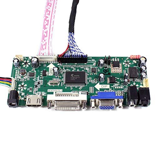 VSDISPLAY Street Fighter Arcade 1UP Modification LCD M170ETN01 1  M170ETN01 3 M190ETN01 0 G190ETN01 0 HDMI VGA DVI Audio Controlller Kit, Fit  17