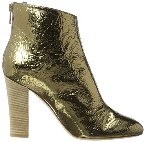 SJP by Sarah Jessica Parker Minnie, Stivali Donna Oro (Gold Crackle Metallic)