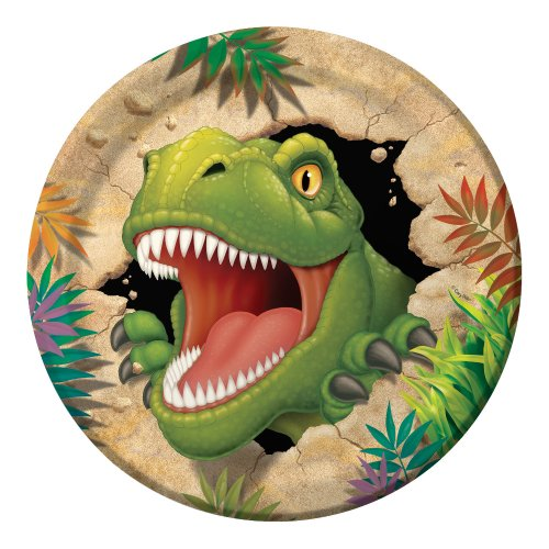 Creative Converting Dino Blast 8 Count Paper Dinner Plates