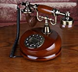 Antique phone New design unique home wooden antique phone