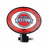 Detroit Pistons Art Glass Night Light,