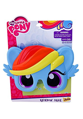 Sunstaches Officially Licensed My Little Pony Blue Rainbow Dash Pony