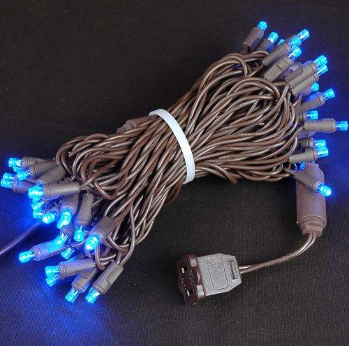 Novelty Lights 50 Light LED Christmas Mini Light Set, Out...