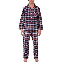 Platinum Men's Flannel Pajama Set