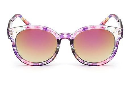 DZW Lunettes de soleil de mode pour dames Trendy Glasses Ultra-Light Yurt réfléchissant , 1