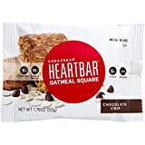 Heartbar Oatmeal Square Bar, Chocolate Chip, 1.76 Ounce (Pack of 12)