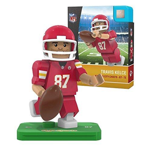 OYO NFL Kansas City Chiefs Gen4 Limited Edition Travis Kelce Mini Figure, Small, White