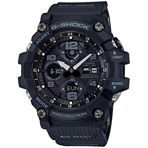 Casio G-Shock Master of G Mudmaster Black Watch (Best G Shock Mudmaster)