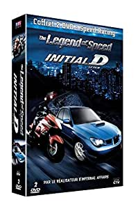 Coffret Speed Racing : The Legend of Speed + Initial D - Le Film [Francia] [DVD]
