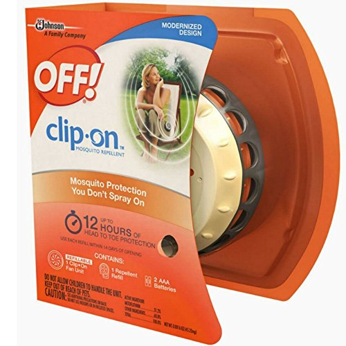 - OFF! Clip On Mosquito Repellent Fan Unit 1 ea ( Pack of 1 )