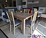 Heze Ltd Absolutely Perfect Small Size Dining Table! Stunning Extending Oak Sonoma Colour