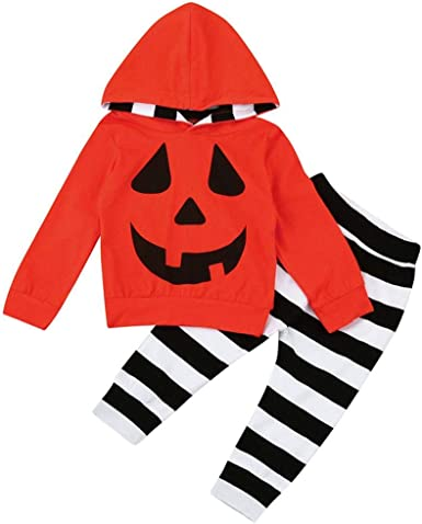 Disfraz Halloween Bebe Ropa Fosseb Bebé Niño Niña Calabaza ...