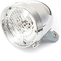 HELYZQ Lanterna de bicicleta clássica vintage com 3 LEDs, farol dianteiro, cidade e estrada