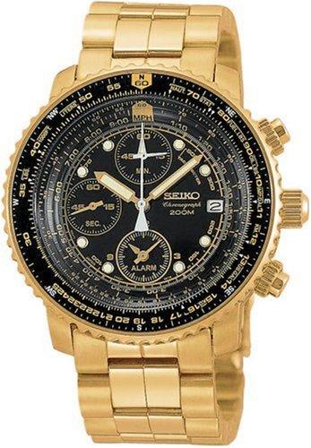 Seiko Watches SNA414 - Reloj de Pulsera Unisex Hombre Unisex, Color Oro: Seiko: Amazon.es: Relojes