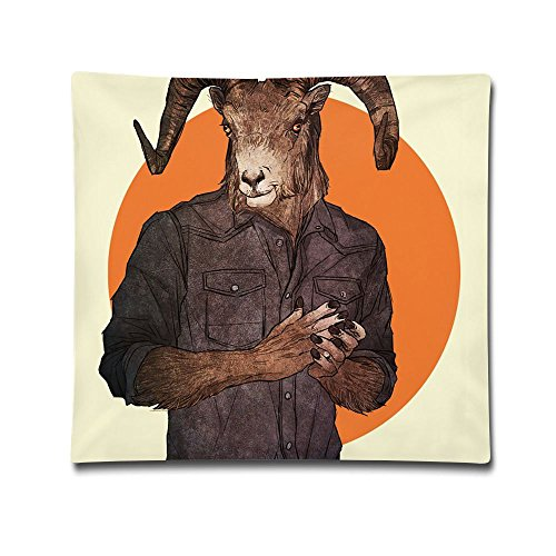 Phyllis Walker Pillow Shams Hipster Animals Square Throw Pillow Case Cotton Decorative Pillowcase Cushion Cover For Sofa Bedroom 18