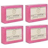 Khadi Swati Rosewater Soap 125 gm (set of 4)