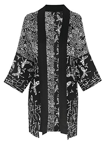 3x 4x Kimono Plus Size Women's Cardigan, Plus Size Clothing for Larger Size, Custom Order 3x 4x Plus Size Kimono Duster Jacket, Mix and Match with Basics, Dressy for Office - Online Colors Mix