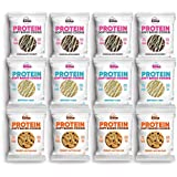 Buff Bake Protein Cookies, All Time Favorites, 2.82oz, 12 Count