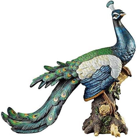 Design Toscano QL5734 Palace Peacock Garden Statue