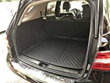 REAR TRUNK FLOOR CARGO TRAY PROTECTION DIRT MUD SNOW ALL WEATHER SEASON WATERPROOF WATER-RESISTANT 3D LASER MEASURED LINER MAT FOR MERSEDES-BENZ ML & GLE Class 2012 2013 2014 2015 2016 2017 2018 2019