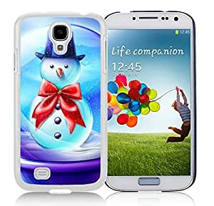 Popular Sell Samsung S4 TPU Protective Skin Cover Merry Christmas White Samsung Galaxy S4 i9500 Case 89 by icecream design