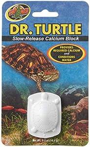 Zoo Med Laboratories SZMMD11 Dr Turtle Slow-Release Calcium Block, 0.5-Ounce