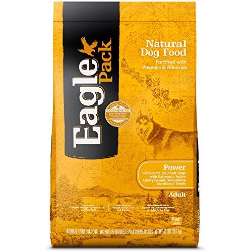 Original 40 Lb Bag - Eagle Pack Power Natural Dry Dog Food, Chicken & Pork, 40-Pound Bag