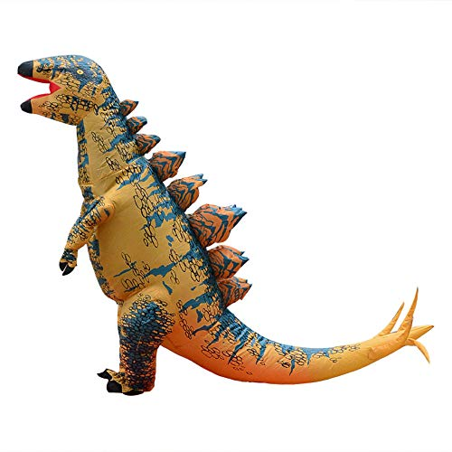 Funny Inflatable Kids Dinosaur Costume for Boys (Yellow) -