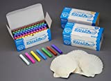 72 Pieces White dustless Chalkx3000