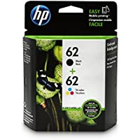 HP 62 Black & Tri-color Original Ink Cartridges