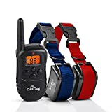 Training Dog Collar - ObeDog Stride Two Dog Series Rechargeable and Weatherproof Training Collar Set