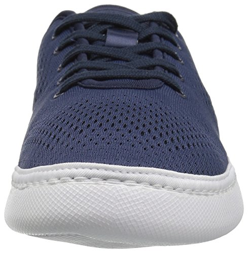 Lacoste Men's L.ydro Lace Sneakers,NVY/White Textile,10.5 M US by Lacoste (Image #4)