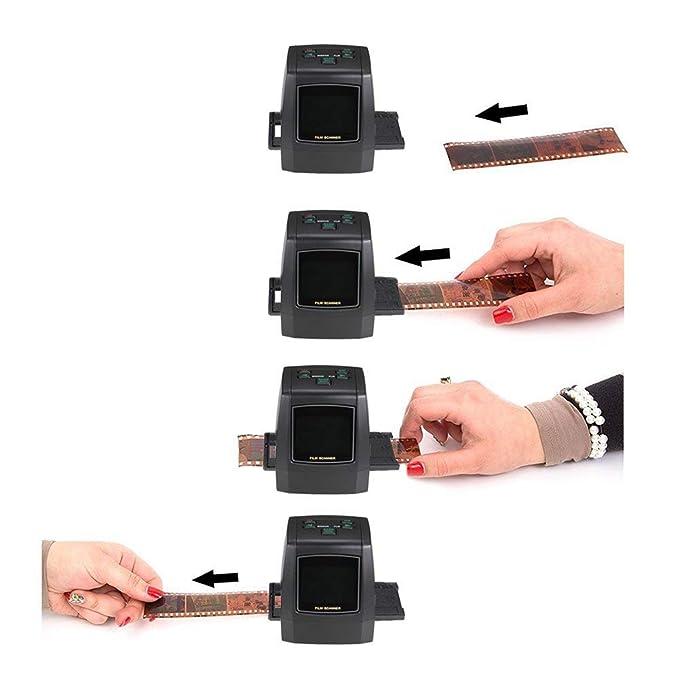 Escáner de negativos, película y diapositivas de 35mm DB-Tech: Amazon.es: Electrónica