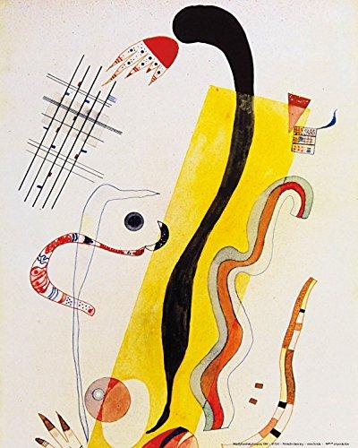 Posters: Wassily Kandinsky Poster Art Print - Rampant, 1934
