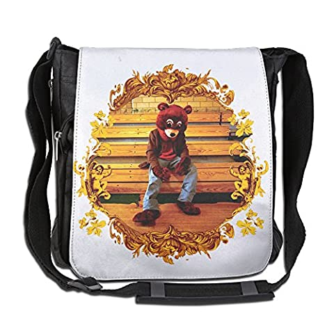 AIJFW Kanye Omari West Fashion Multifunctional Crossbody Bags Business And Casual Travel Gear Ipad Tablet Briefcase For Men's & Women's (What Did Kanye)