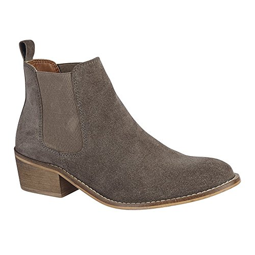 Cipriata Womens/Ladies Sabrina Twin Gusset Ankle Boot Mink