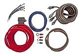 Lightning Audio by Rockford Fosgate 10 Gauge Ga Awg Amplifier Installation Wiring Amp Kit