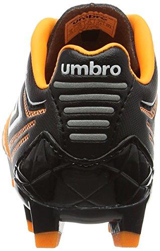 Umbro Medusæ Premier Hg Jnr, Botas de Fútbol Niños Naranja (Epy Orange Pop/White/Black)