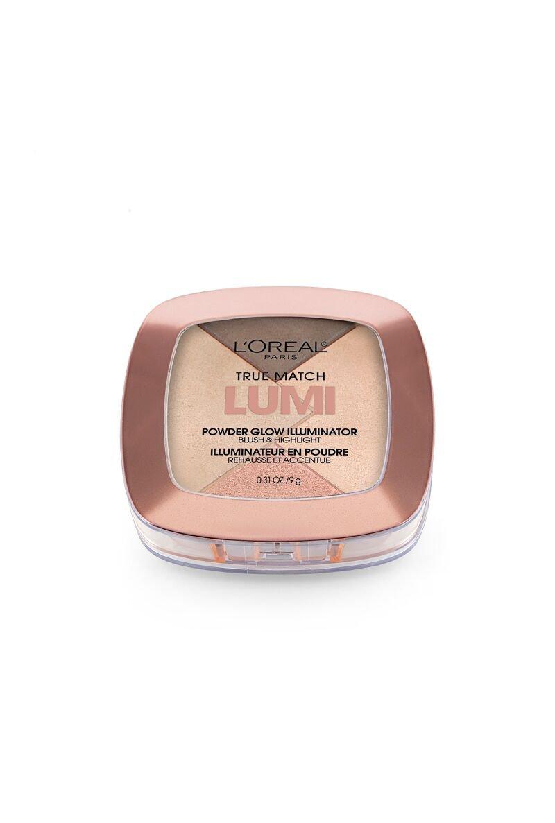 L'Oréal Paris True Match Lumi Powder Glow Illuminator, Golden, 0.31 oz.