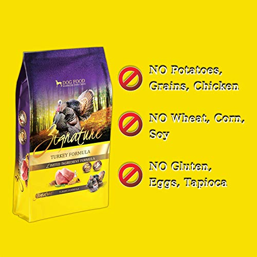 51LLhyfb13L. SS500  - Zignature Turkey Dry Dog Food