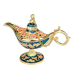 Antique Style Fairy Tale Aladdin Magic Lamps Tea Pot Genie Lamp Vintage Retro Toys For Children Home Decoration Gifts