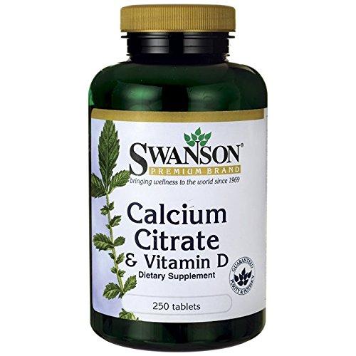 Swanson Calcium Citrate Vitamin Tabs