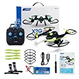 WensLTD Gift ! JJPRO X2 2.4GHz 4CH 6-Axis Quadcopter Drone UAV Through The Entry-leve With LED