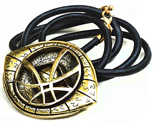 BlingSoul New Doctor Strange Costume Cosplay Jewelry - Eye of Agamotto Necklace (Large) by BlingSoul (Image #3)