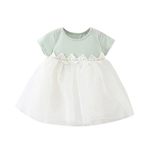 d0a42059de42 Amazon.com  Vincent July Cute Baby Girl Summer Tulle Tutu Pageant ...