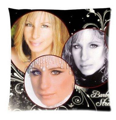 VintaStore Barbra Streisand Square Throw Cubierta promoci/ón con Cremallera Funda de Almohada Best Fundas de Almohada Dos tama/ño